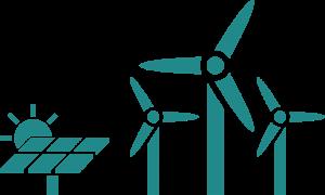 Solar und Wind Icon