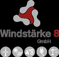 Windstärke 8 Logo