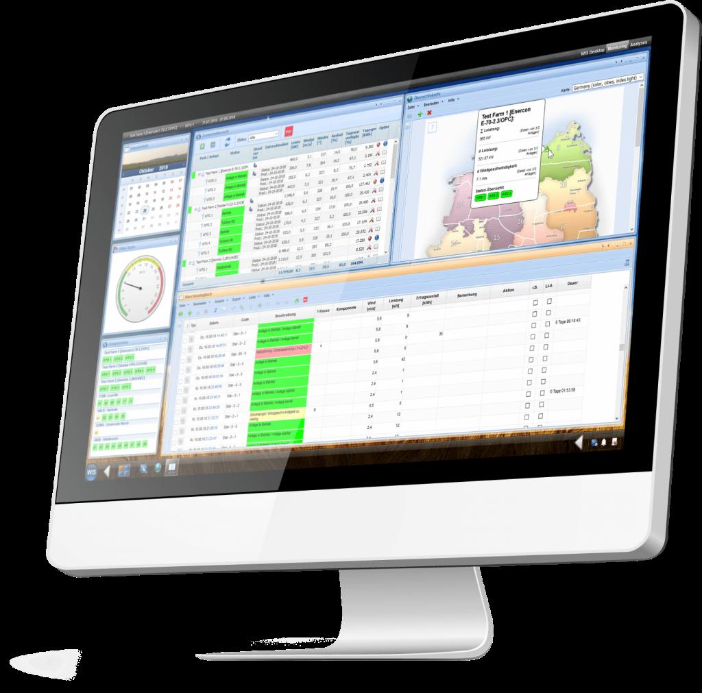 WIS Desktop Funktionen